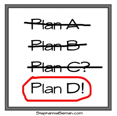 Plans, change of plans