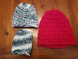 Loom Knitted Beanies for Newborns to Adults