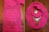 My heart infinty scarf